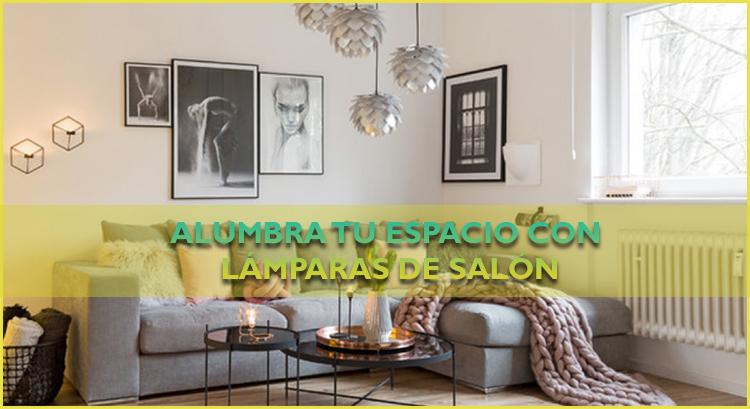 Alumbra tu espacio con lámparas de salón