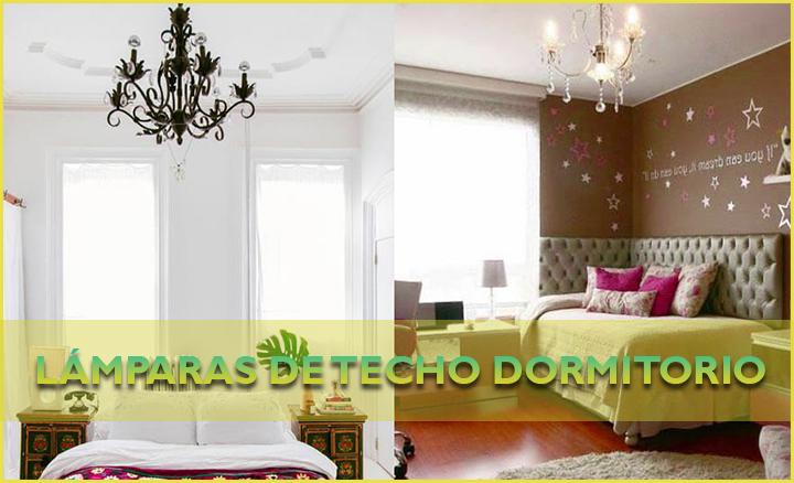 Lámparas de techo dormitorio